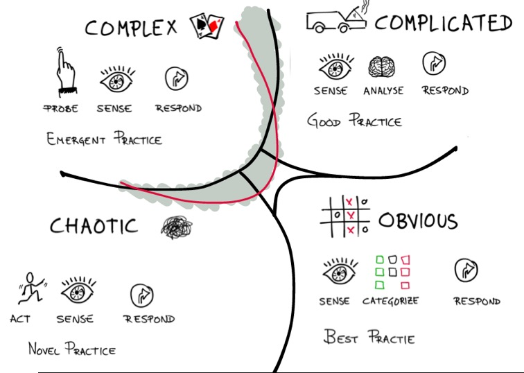 مدل یا چهارچوب کاینوین برای تصمیم گیری بهتر | Cynefin Framework | دیو اسنودن | علی خادم الرضا مدرس مشاور و نویسنده کارآفرینی و مدیریت کسب و کار